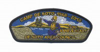 50th Anniversary De Soto Area Council CSP (Black)  De Soto Area Council #13