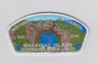 Mackinac Island CSP full color Michigan Crossroads Council #780