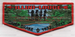 Patch Scan of PL ILLINI LODGE FLAP