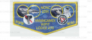 Patch Scan of Amangamek-Wipit NOAC flap