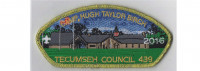 Camp Birch CSP 2106  (gold mylar) Tecumseh Council #439