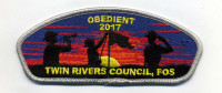 obedient 2017-trc-csp-fos silver border Twin Rivers Council #364