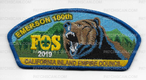 Patch Scan of Emerson 100th FOS 2019 CIEC CSP