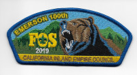 Emerson 100th FOS 2019 CIEC CSP California Inland Empire Council #45