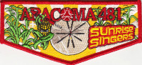 33135 - Aracoma Drum Team Lodge Flap 2014 Black Warrior Council #6