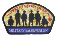 Military Salesperson- Patriots Path Council CSP  Patriots' Path Council #358