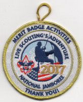 2017 Jamboree Merit Badge Activities Thank you! Metallic Gold (PO 87142) San Diego-Imperial Council #49