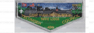 Patch Scan of Camp Lodge flap (silver)