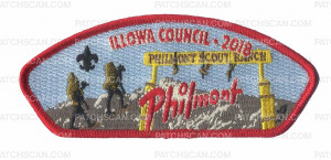 Patch Scan of Illowa Council 2018 Philmont CSP
