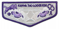 P24532 Kanwa Tho Lodge Alzheimer Flap Three Harbors Council #636