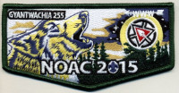 Gyantwachia 255 NOAC 2015 - Pocket Flap Chief Cornplanter Council #538