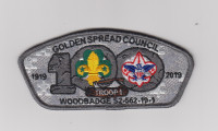 Wood Badge S2-562-19-1 CSP Golden Spread Council #562