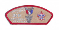 Gathering of Eagles 2015 CSP (Red) Three Fires Council #127