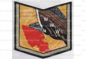 Patch Scan of 2018 NOAC Delegate Pocket Patch (87765)