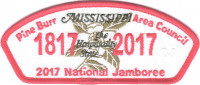 Pine Burr Area Council 2017 National Jamboree JSP KW1624 Pine Burr Area Council #304