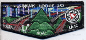 Patch Scan of Siwinis Lodge 252 - Pocket Flap