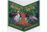 2018 NOAC Pocket Patch Night Time (PO 87628r1) Tidewater Council #596