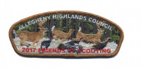 Allegheny Highlands Council- 2017 FOS- Brown Border  Allegheny Highlands Council #382
