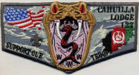 Cahuilla Lodge Support Our Troops - Pocket Flap California Inland Empire Council #45