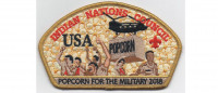 Popcorn for the Military CSP 2018 (PO 87958) Indian Nations Council #488