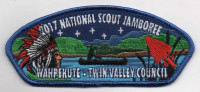 TVC JAMBOREE WAHPEKUTE CSP Twin Valley Council #284