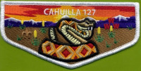 Cahuilla 127 Pocket Flap California Inland Empire Council #45