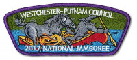 P24124 Jamboree Patch Set and Framing Card Westchester-Putnam Council #388