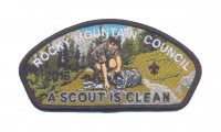 Rocky Mountain Council - A scout is Clean CSP Rocky Mountain Council #63