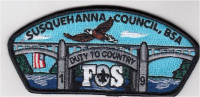 Duty To Country FOS 2019 full color Susquehanna Council #533