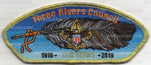 Patch Scan of THREE RIVERS 100 YEARS CSP