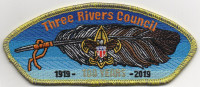 THREE RIVERS 100 YEARS CSP Three Rivers Council #578