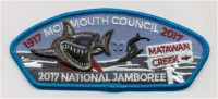 Surfer Shark CSP Monmouth Council #347