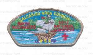 Patch Scan of CAC - CALCASIEU AREA COUNCIL JSP (Tan Border)
