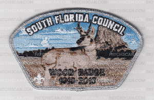 Patch Scan of SO FLA CNCL  WOODBADGE ANTELOPE CSP