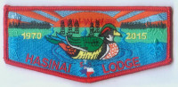 HASINAI LODGE FLAP 1970 Three Rivers Council #578