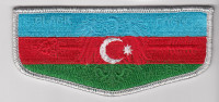 Azerbaijan OA Flap Transatlantic Council #802