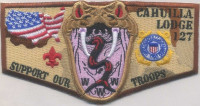 Cahuilla Lodge 127 Support Our Troops California Inland Empire Council #45