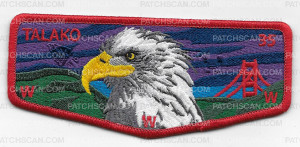 Patch Scan of Talako OA Pocket Flap