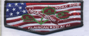 Patch Scan of 350081 KLAHICAN
