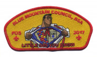 Blue Mountain Council- Little Did You Know FOS Red Border  Blue Mountain Council #604