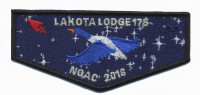 Lakota Lodge 175 NOAC 2018 flap KW2716 Pathway to Adventure Council #