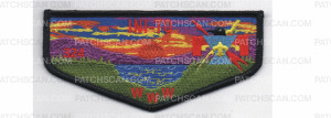Patch Scan of Lodge Flap Black Border (PO 87405)