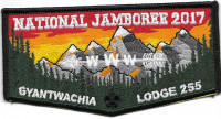 National Jamboree 2017 Gyantwachia Lodge 255 FLAP  Chief Cornplanter Council #538