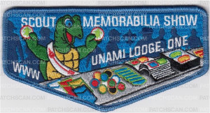 Patch Scan of Scout Memorabilia Show Unami Lodge One