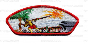 Patch Scan of Maui County Council - Boy Scouts of America