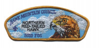 Hawk Mountain Council - 2019 FOS (Nothern Red-Tailed Hawk) Hawk Mountain Council #528