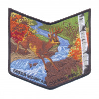 K123641 - GREEN MOUNTAIN COUNCIL - AJAPEU 2015 NOAC (POCKET PIECE) Green Mountain Council #592