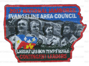 Patch Scan of Evangeline Area Council - Contingent Leaders
