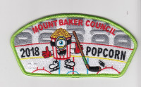 2018 Popcorn CSP Mount Baker Council #606