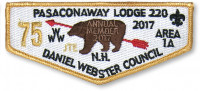 P24510_A Annual Member Patches Daniel Webster Council #330